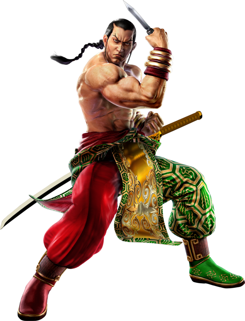 Tekken 6 Sword men's renders Feng