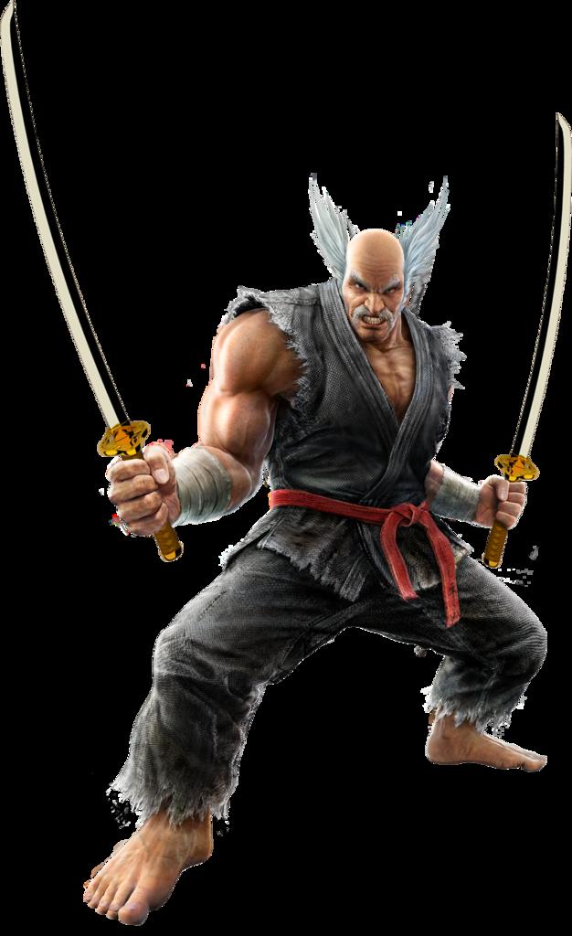Tekken 6 Sword men's renders Heihachimishima