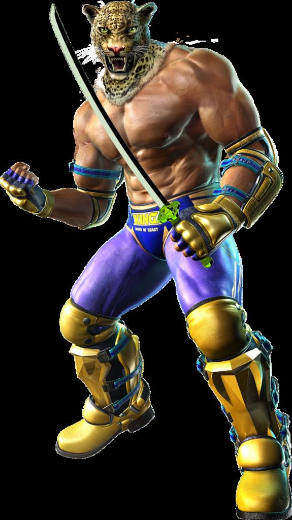 Tekken 6 Sword men's renders King
