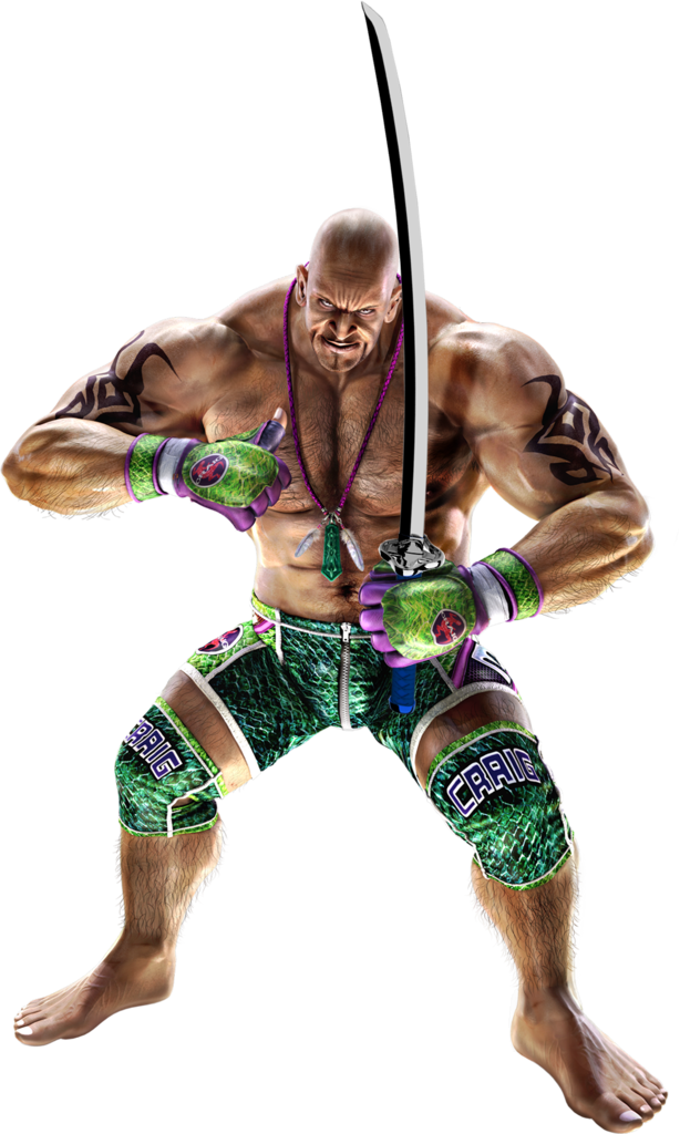 Tekken 6 Sword men's renders Marduk