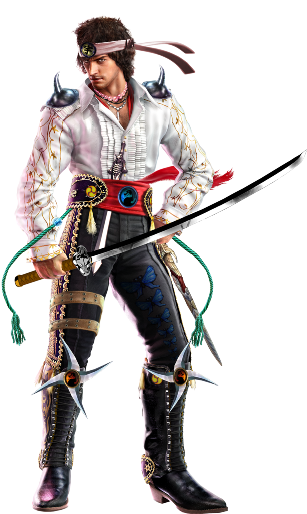 Tekken 6 Sword men's renders Miguel-2