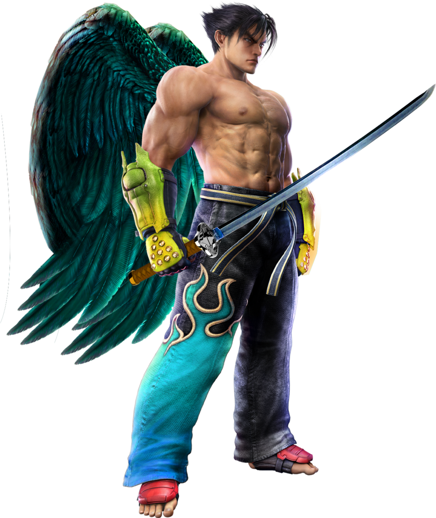 Tekken 6 Sword men's renders Transwordjindevil