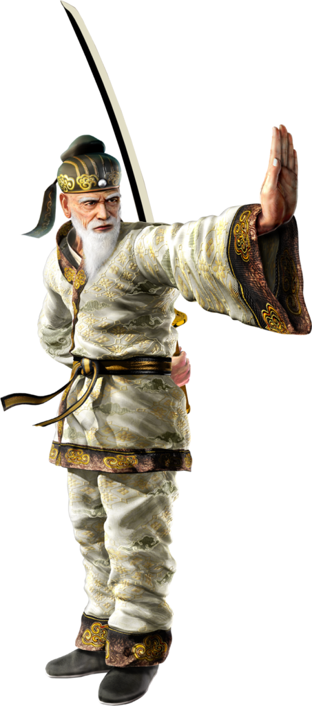 Tekken 6 Sword men's renders Wang