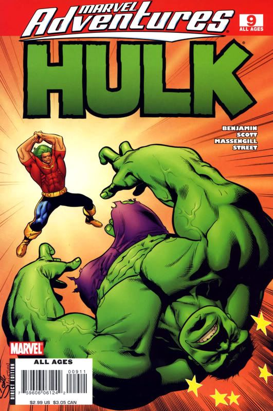 Marvel Adventures - Hulk MAHulk9001