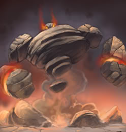 Earth Elemental. Golem-3