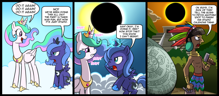 OMG PONIES!!!! - Page 2 Luna_and_celestia_adventures_by_csimadmax-d3ixvnh