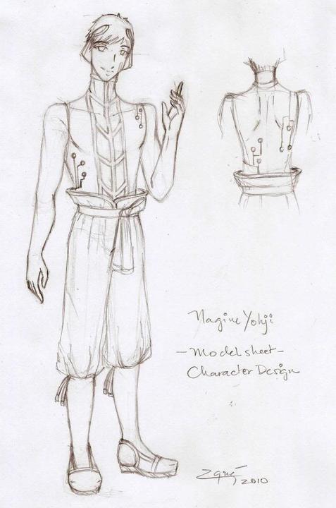 Nagine Yohji's Design [Newcomer] Yohjisnewdesign