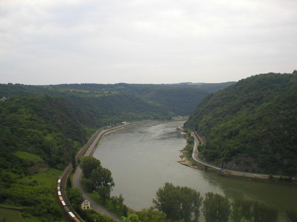 Blick auf den Rhein von der Loreley Pictures, Images and Photos
