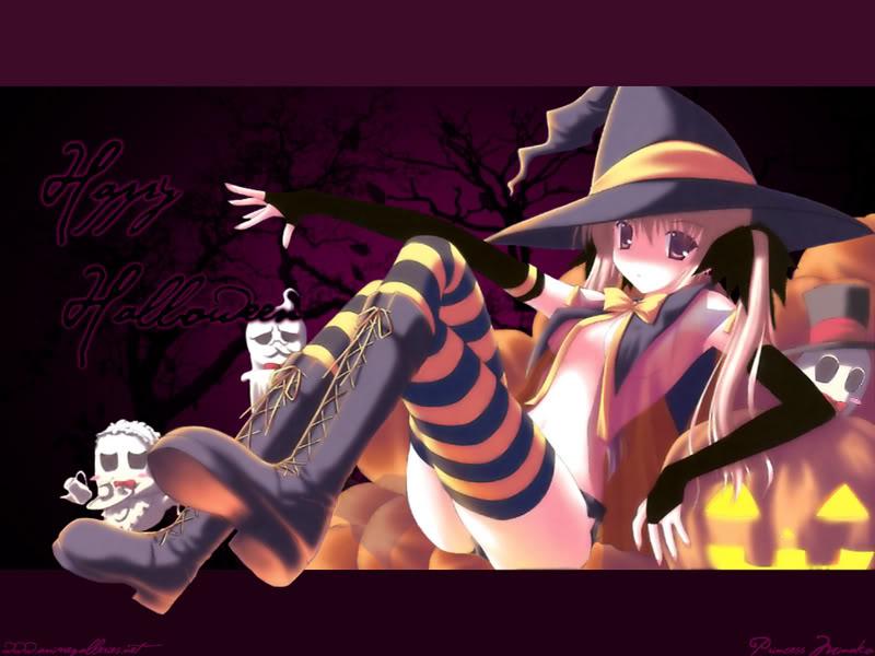 muchas IMAGENES QUE PUEDEN USAR PARA EL rpg. Halloween_anime