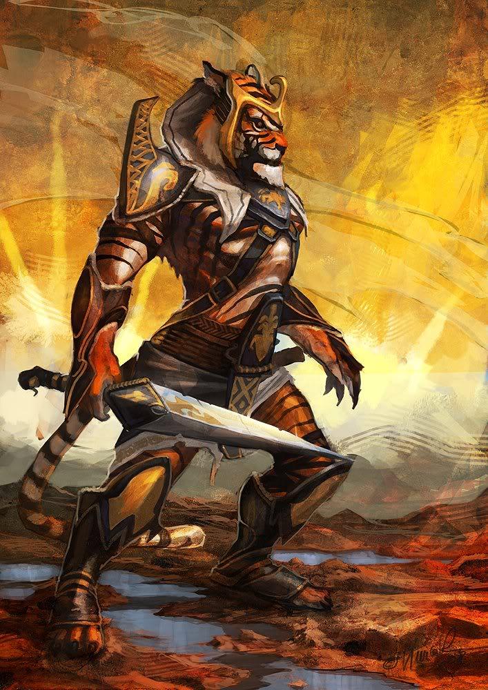 muchas IMAGENES QUE PUEDEN USAR PARA EL rpg. Tiger-warrior
