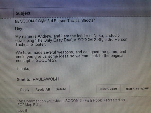 I received an email asking for advice on a new 3rd person tactical shooter. 100_zps302ae4fd