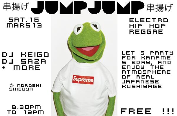 Soirees electro / drum n bass / dubstep @ Tokyo - 2013 Jumpjump13mars13_zps41888925