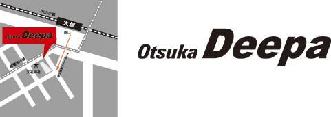 16/01/2010 : DEEPA SESSION @OTSUKA DEEPA (tokyo) OtuskaDeepalogo_map