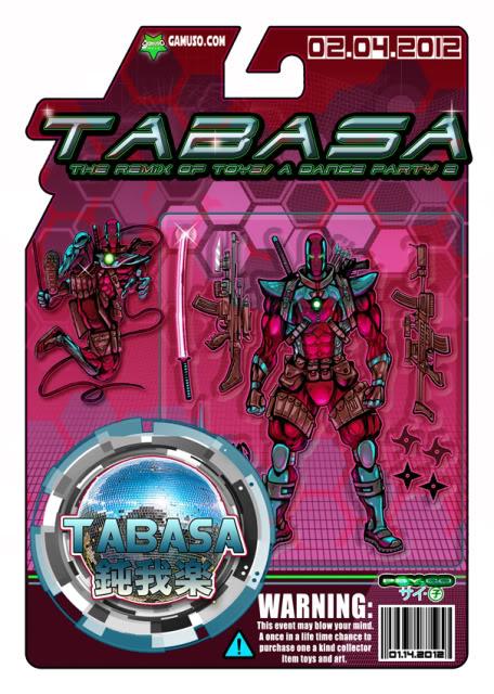 04 FeV 2012 : TABASA : art event @Gamuso - tokyo JP Tabasa