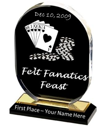 Felt Fanatics Feast Friday Nights at 20:00! FFTrophy