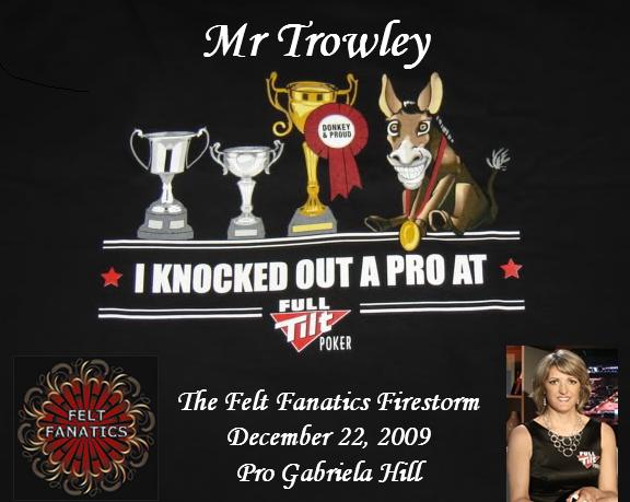 Felt Fanatics Firestorm Results 12-22-09 FFproKO12-22
