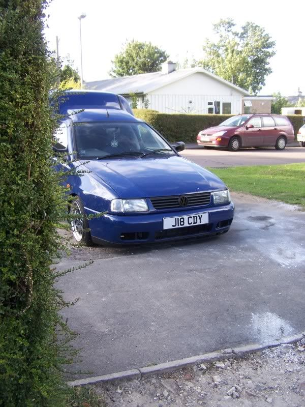 """derek"" the tdi van Thebluewagon051"