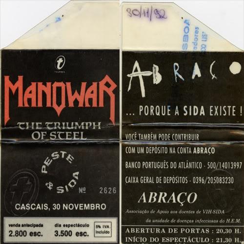 MANOWAR HISTORY Manowar2tickets
