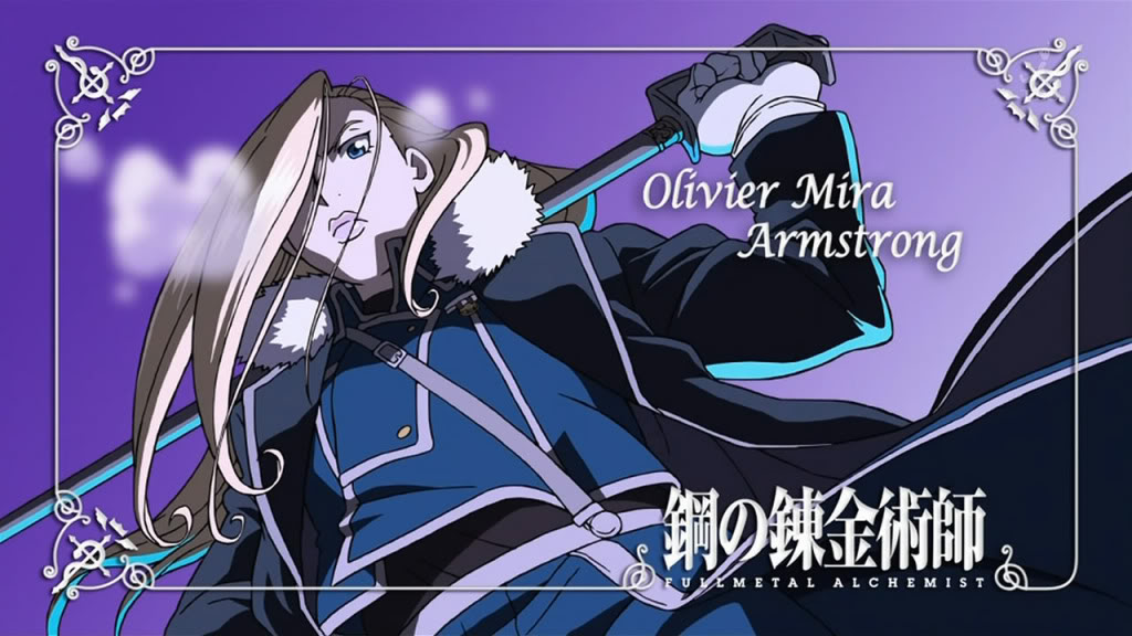 Full metal Alchemist i Full Metal Alchemist: Brotherhood Olivier