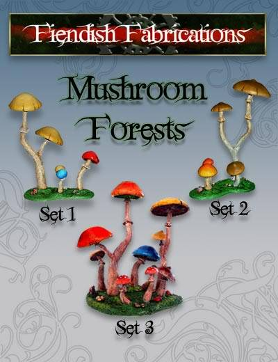 Oil and Slug Warband MushForest_poster