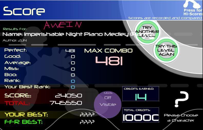 Imperishable Night Piano Medley (Part 2) ImperishableAAA