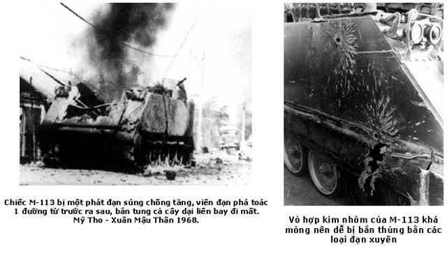 Little stories of US, Soviet (and other foreign) weapons in Vietnam M113-05