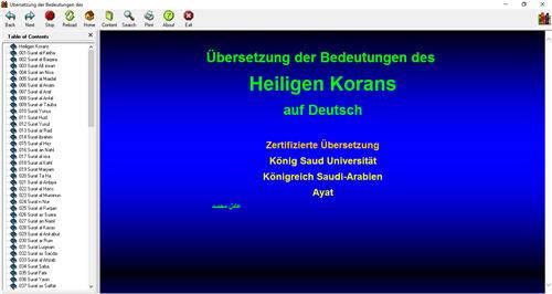 Die Bedeutungen des Heiligen Korans E-Book Für Computer 1_300
