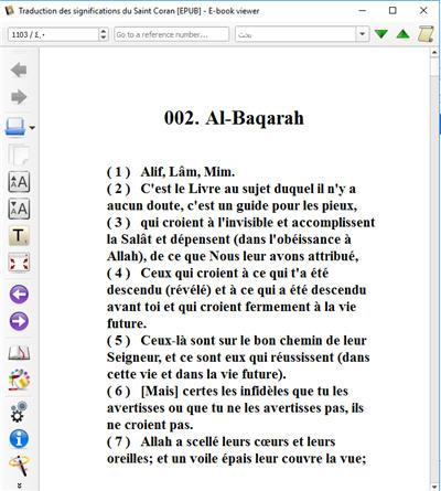 Traduction des significations du Saint Coran Pour les téléphones et iPads 2_285