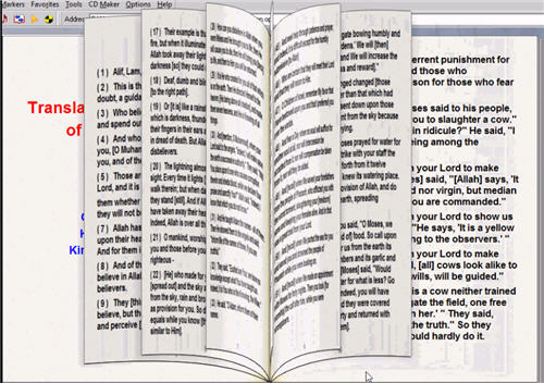 the meanings of the Holy Quran a book You flip its pages yourself 3_33