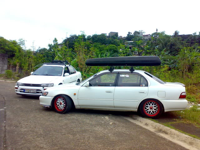 my humble corolla here in the Philippines 141120111330