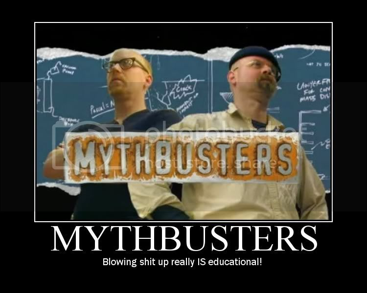 Mythbusters Motivator Pictures, Images and Photos