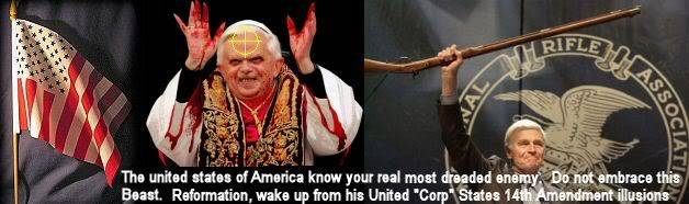 REMEMBER IT'S THOSE LUCIFERIANS USING CATHOLISM AS A FRONT IN ROME DOING THIS TO US ALL! POPEDISGRACE
