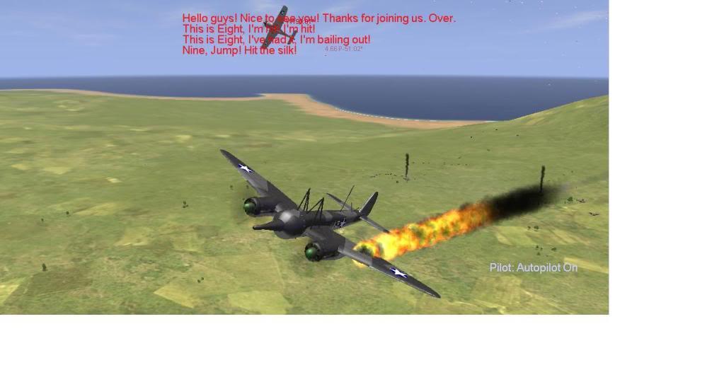 Il-2 Sturmovik 1946 Failure Fire