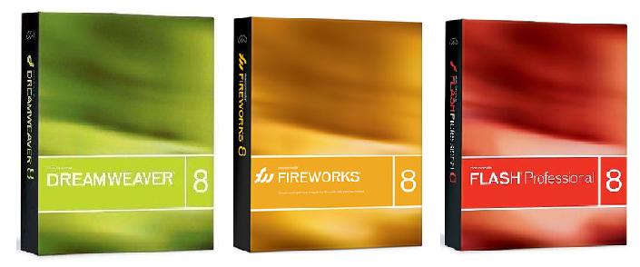 Macromedia Studio 8- Flash - Dreamweaver - Fireworks Macromedia-1