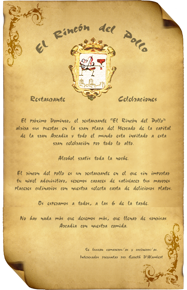 Inauguración del Rincón del Pollo Rinconpollo