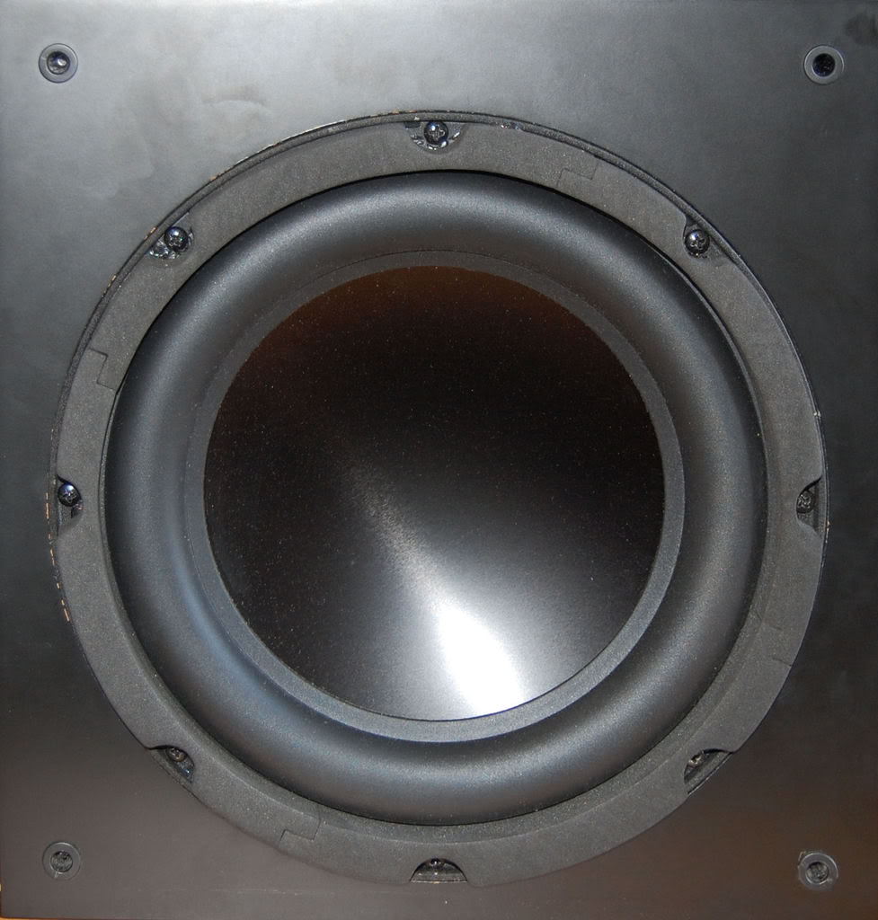 SOLD - av123 classic >> ulw-10 sub in satin black Ulw-10