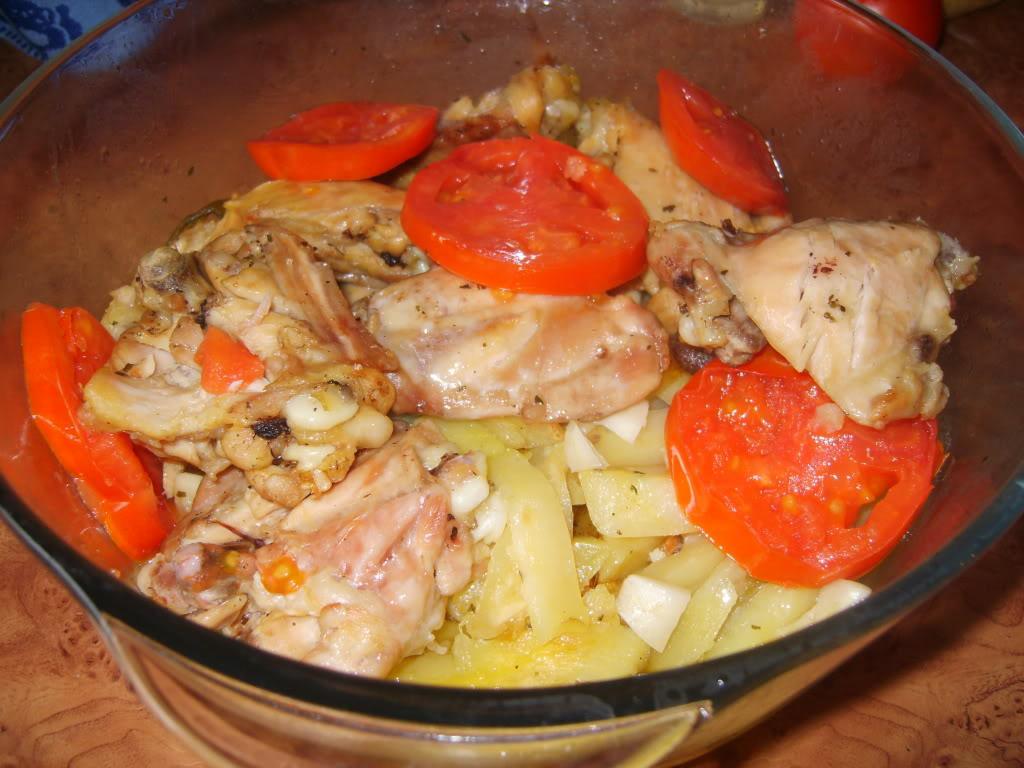 pui cu legume la cuptorul cu microunde S8003318