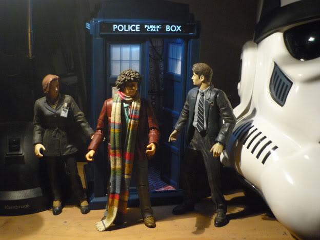 Doctor Who? random gold... Tardis