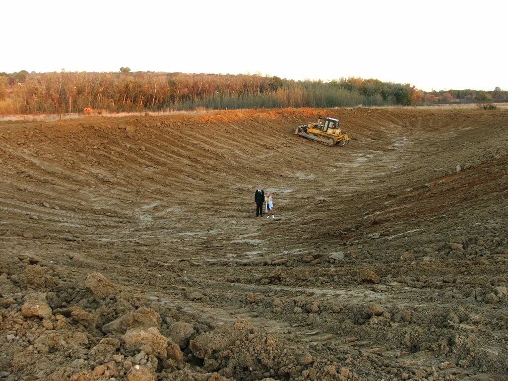 A new mud pond at Orient Koi Farm DSCF6375
