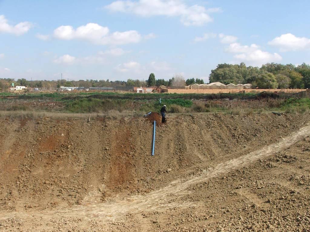 A new mud pond at Orient Koi Farm DSCF6414