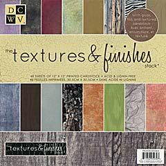 Pré order DCWV TEXTURES & FINISHES Stack 12x12 PS-005-00093