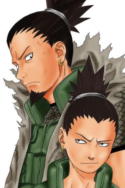 Shikamaru Nara Nara_Shikamaru_and_his_Dad-3
