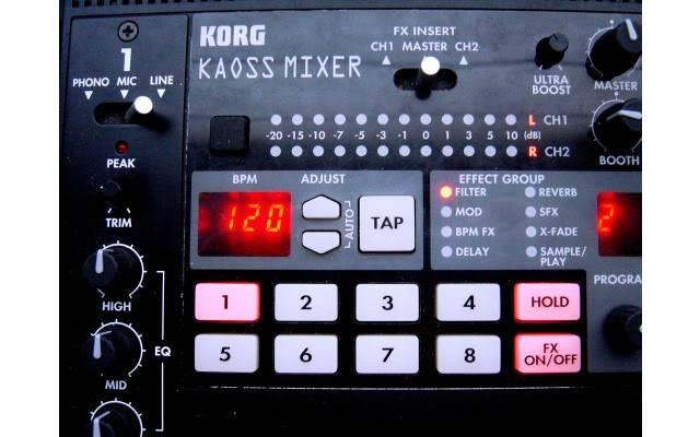 Korg Kaoss Mixer 47831