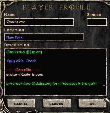 Inside The Game Profile Coloring