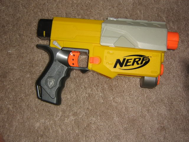 From the Vault: More spring compression in Nerf Recon Img_0282