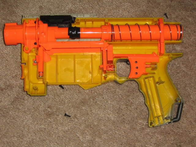 From the Vault: More spring compression in Nerf Recon Img_0283
