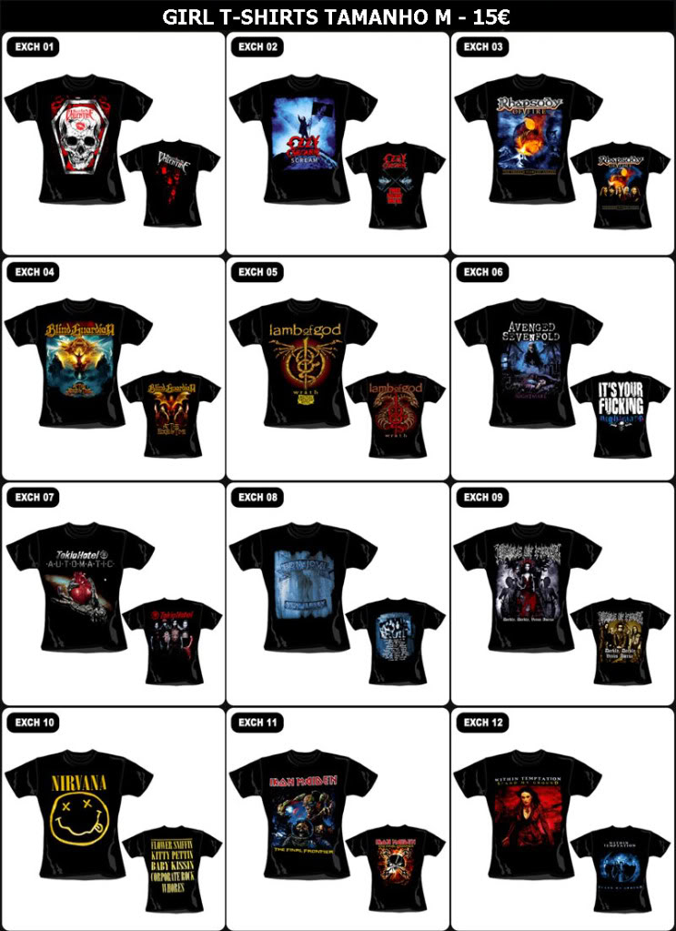 GUARDIANS OF METAL - Setembro 1988 - Setembro 2018 - 30 anos no Metal  - Página 2 GIRLT-SHIRTS1