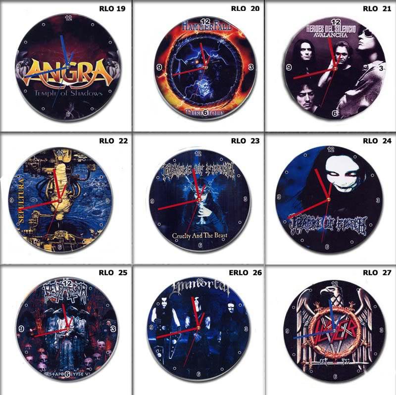 GUARDIANS OF METAL - Setembro 1988 - Setembro 2018 - 30 anos no Metal  - Página 2 RELOGIOSPAREDE15CM-2