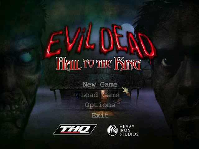 Evil Dead Hail to the King [PC] Menu