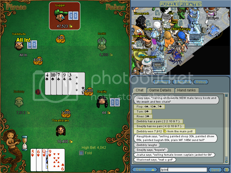 Random Screenies! PuzzlePiratesTdeathblake9